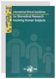 cioms international ethical guidelines for biomedical research rh mbrdb nibiohn go jp CIOMS Books CIOMS Vi
